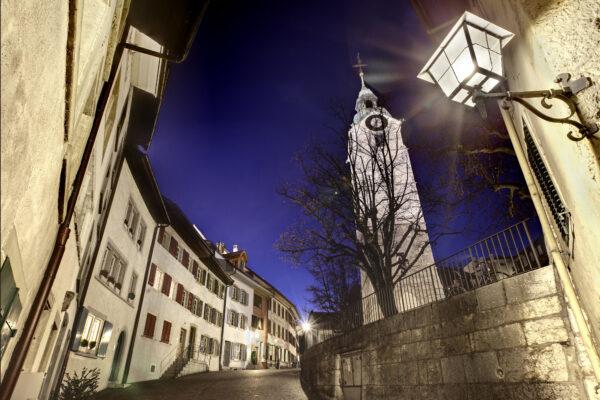 Altstadt mit Stadtturm, Olten