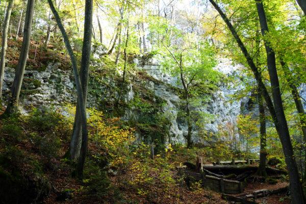 Chälegraben zwischen Aufstieg zwischen Mariastein und Blauenpass