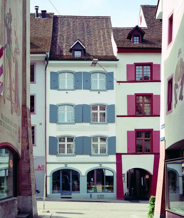Fassade Dichter- und Stadtmuseum Liestal