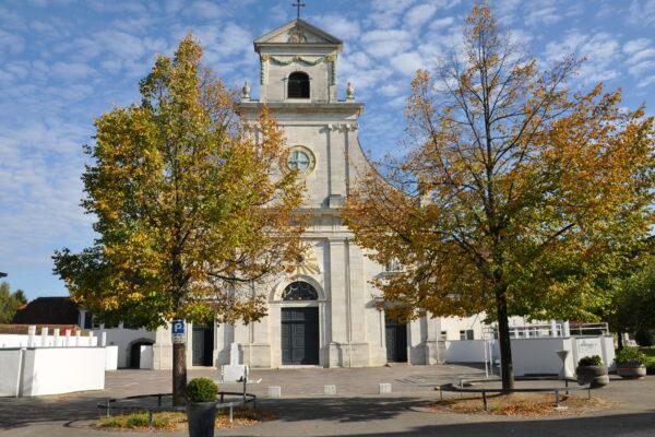 Kloster Mariastein, Frontansicht