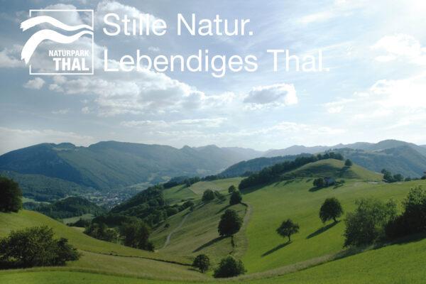 Naturpark Thal Stille Natur. Lebendiges Thal.