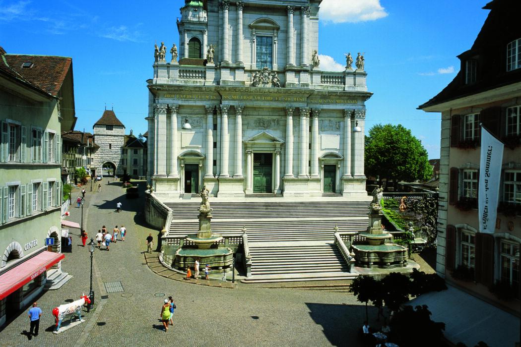 St. Ursen Kathedrale und Infozentrum Solothurn