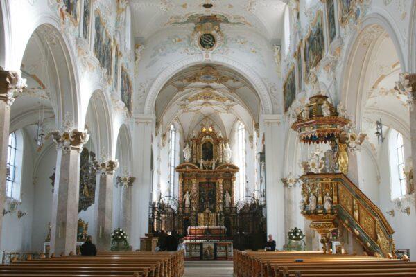 Kloster Mariastein innen